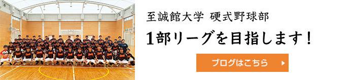 至誠館大学 硬式野球部 1部リーグを目指します!